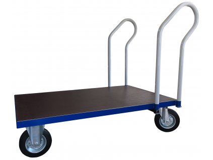 Trolley platform with two handles