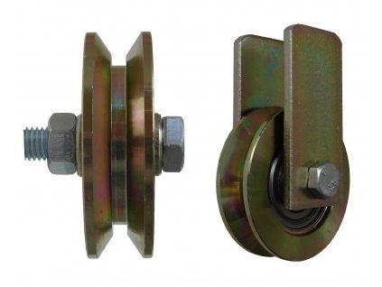 Kladka typ V bez úchytu průměr 89 mm 220 kg 95089-01