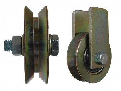 Kladka typ W bez úchytu průměr 79 mm 200 kg 95079-11