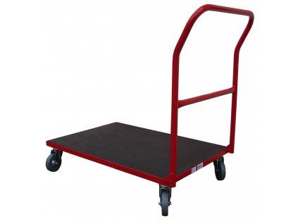 Plošinový vozík 800 x 550 1 x madlo 200 kg 51037-02