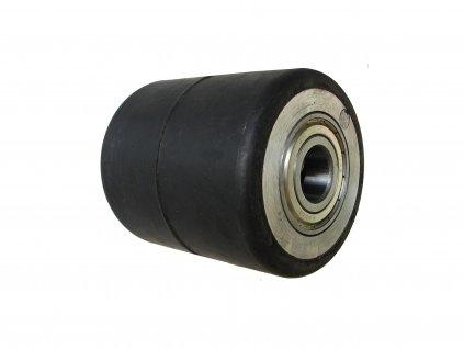 Kolečko zadní hliníkový střed gumová obruč průměr 82 mm 400 kg 14082-82