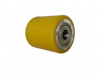 Kolečko zadní hliníkový střed polyuretanová obruč průměr 82 mm 700 kg 14082-86