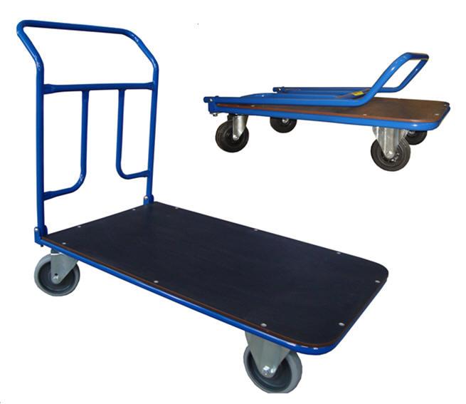 Skladacie plošinové vozíky
