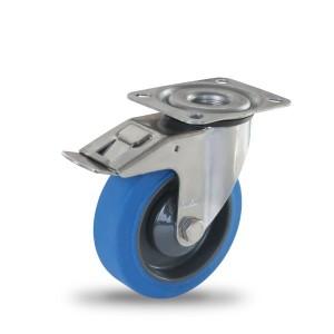 Kolesá z elastickej gumy série PR