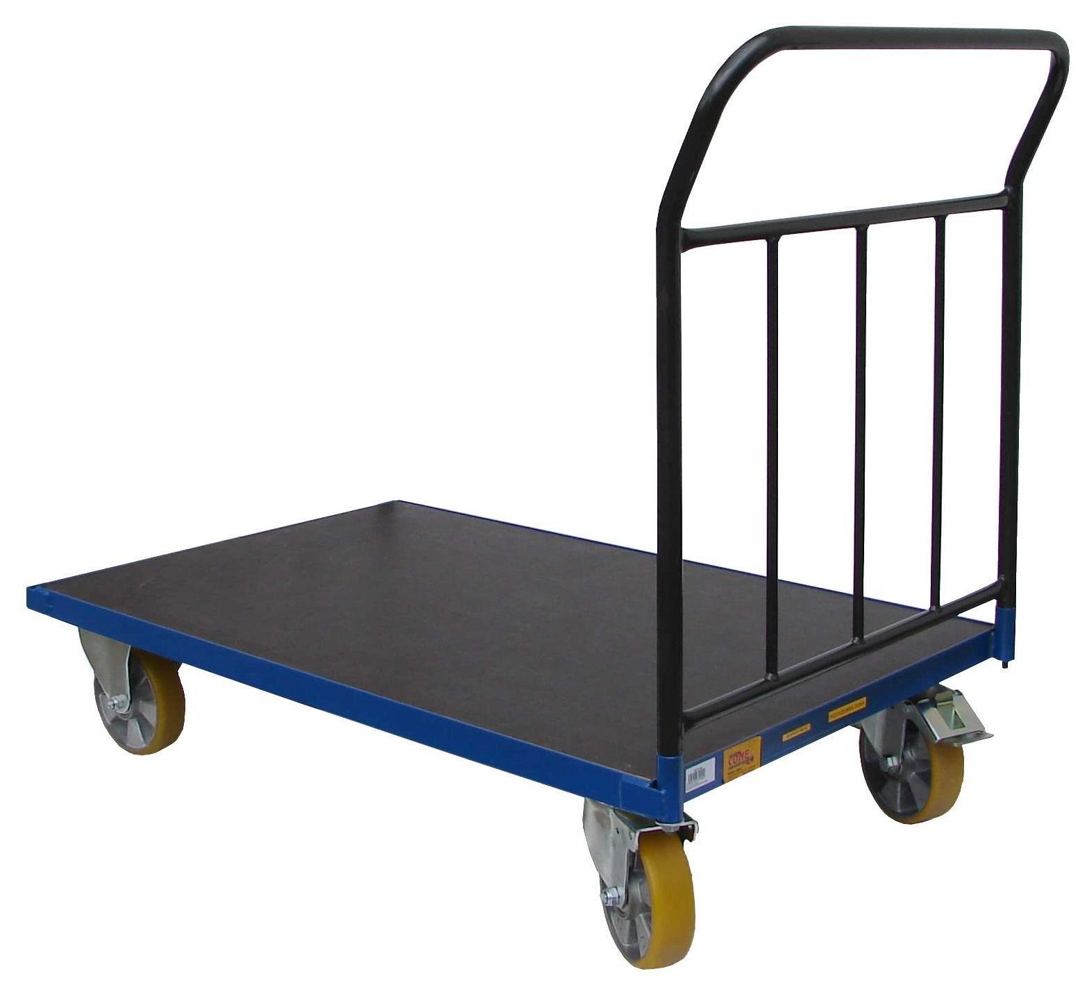 Plošinové vozíky PROFI - na liate podlahy