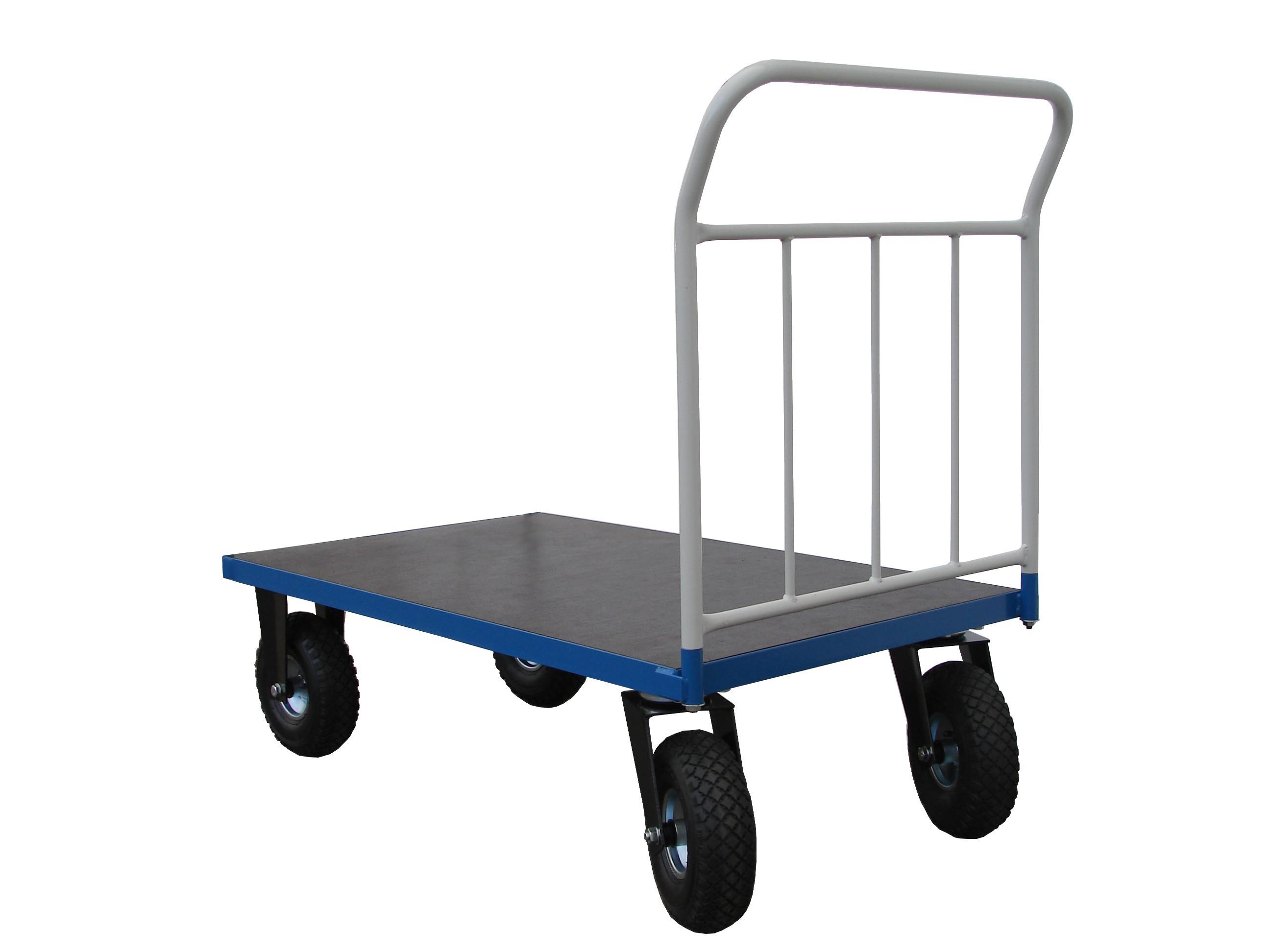 Plošinové vozíky PROFI s nafukovacími kolesami