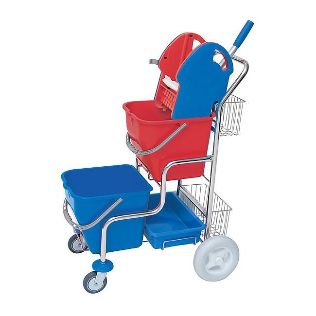 Lacné upratovacie vozíky