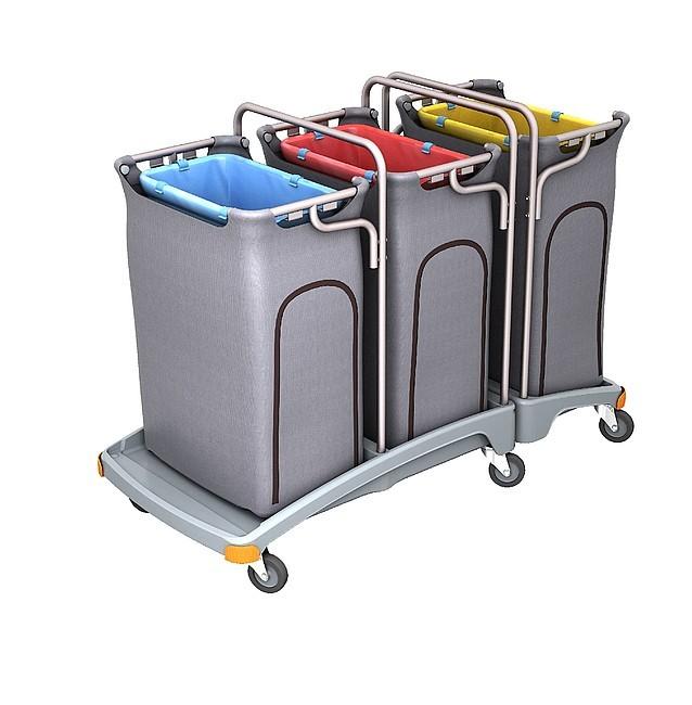 Vozíky na odpadové vrecia