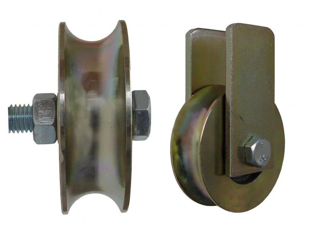 Kladka typ U bez úchytu priemer 79 mm 200 kg 95079-21