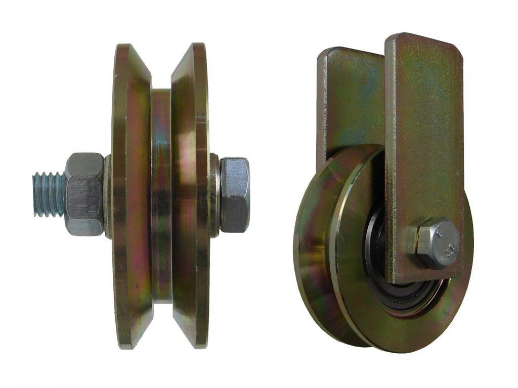 Kladka typ V s úchytem priemer 117 mm 220 kg 95117-02