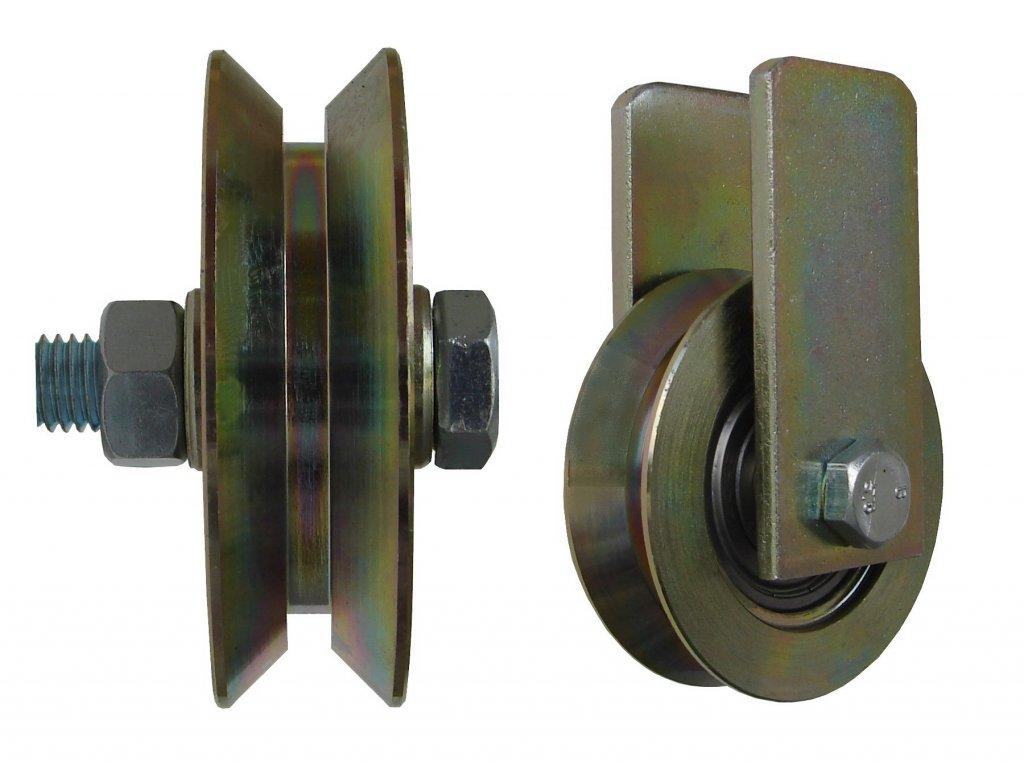 Kladka typ W bez úchytu priemer 117 mm 220 kg 95117-11