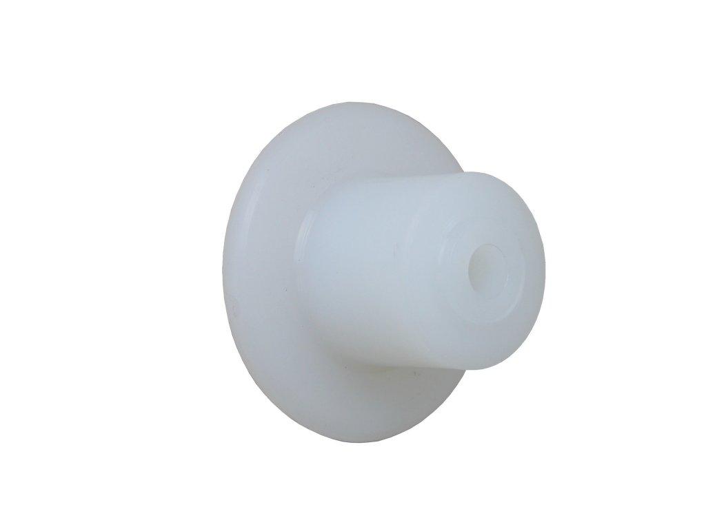 Kladky polyamidové s kluzným uložením 97053-01 (Nosnost (kg) 30, Vnější Ø / Osa Ø (mm) 79/14,5, Celková šířka (mm) 19)