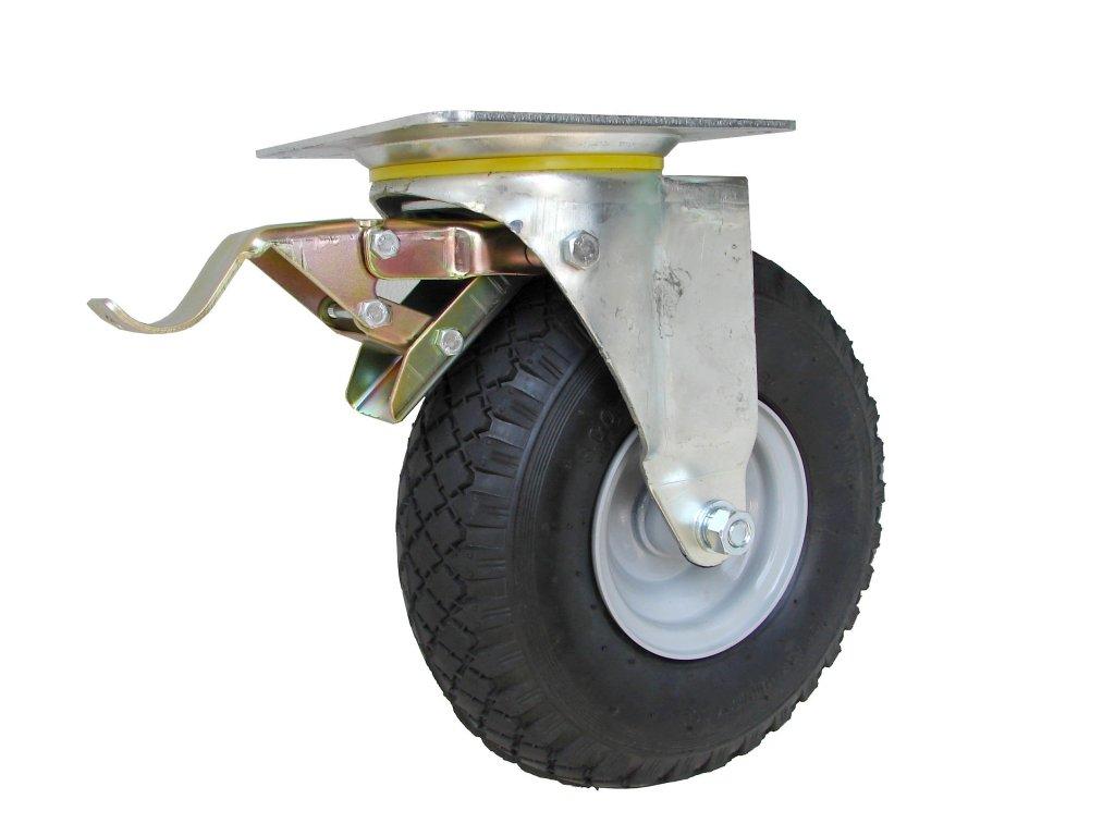 Koliesko otočné s brzdou 3,00-4 130 kg 16260-12