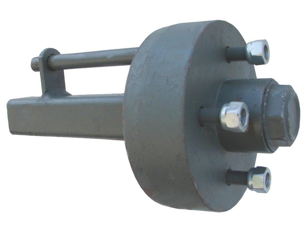 Náprava na príves s nábojom brzdené 500 kg 89002-01