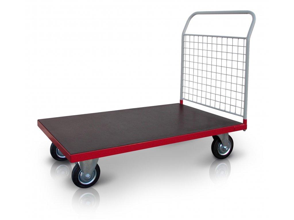 Plošinový vozík 1 x madlo so sieťou 500 kg PROFI 52608-21
