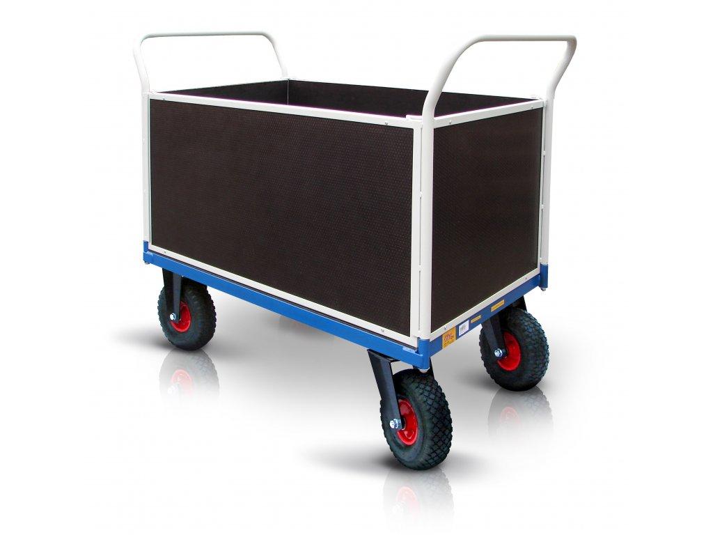 platform trolley pneumatic wheels 18 52711 42