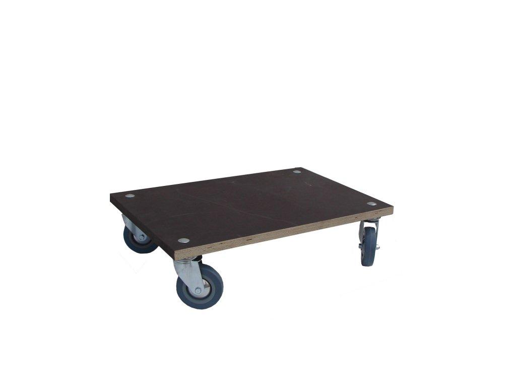 Plošinový vozík bez madla 600 x 400 100 kg 51025-11