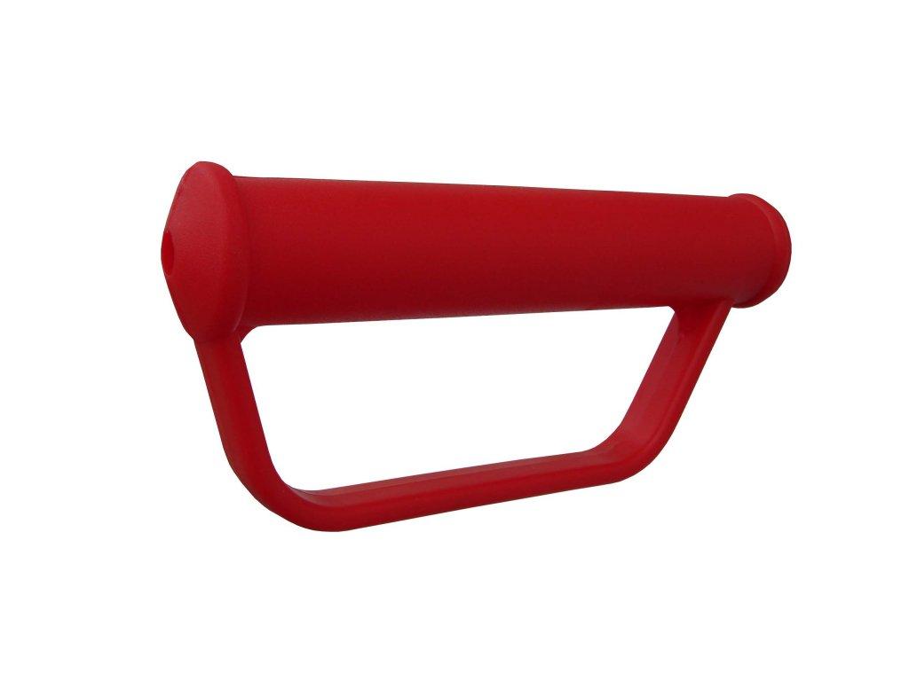 Rukojeť plastová s ochranou 9005-00 (Barva Šedá, Průměr(mm) 27,8, Délka 175)