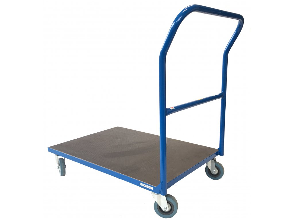 Plošinový vozík 800 x 550 1 x madlo 200 kg 51037-01