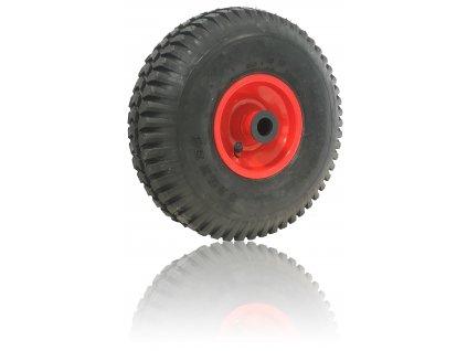 Koliesko nafukovacie 3,00-4 150 kg 3821-99  Náboj 20 x 75 mm - vhodné k rudlu