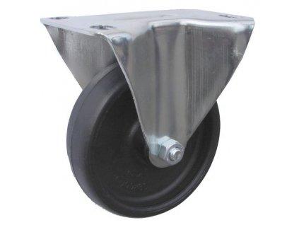 Kolečko pevné pro vysoké teploty 46080-15 (Průměr kola (mm) 160, Nosnost (kg) 100, Rozteč otvorů (mm) 80 x 107)