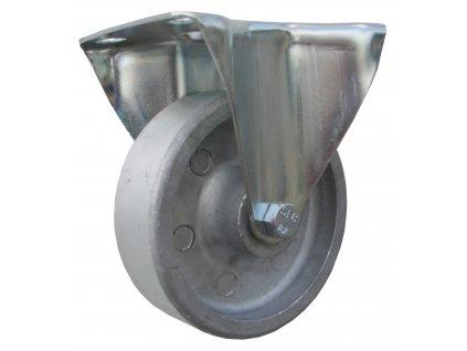 Kolečko pevné pro vysoké teploty 47100-15 (Průměr kola (mm) 180, Nosnost (kg) 200, Rozteč otvorů (mm) 80 x 107)