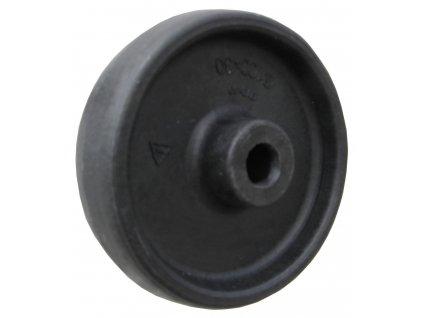Kolečko samostatné pro vysoké teploty 46080-02 (Průměr kola(mm) 160, Nosnost(kg) 100, Průměr/délka náboje(mm) 20/45)