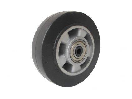 KOLEČKO SAMOSTATNÉ, ELASTICKÁ PRYŽ 37125-03 (Průměr kola(mm) 300, Nosnost(kg) 700, Průměr/délka náboje(mm) 25/82)