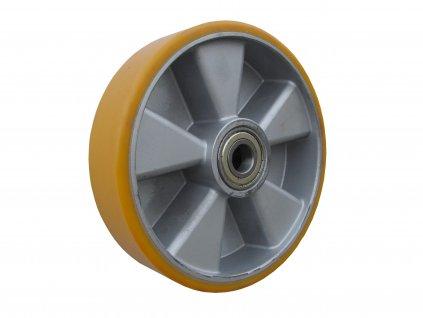 kolečko samostatné, polyuretanová obruč 35160-03 (Průměr kola(mm) 300, Nosnost(kg) 1800, Průměr/délka náboje(mm) 25/82)