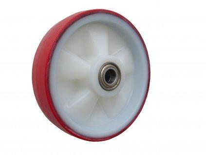 KOLEČKO SAMOSTATNÉ, POLYURETANOVÉ 49080-01 (Průměr kola(mm) 200, Nosnost(kg) 300, Průměr/délka náboje(mm) 20/60)