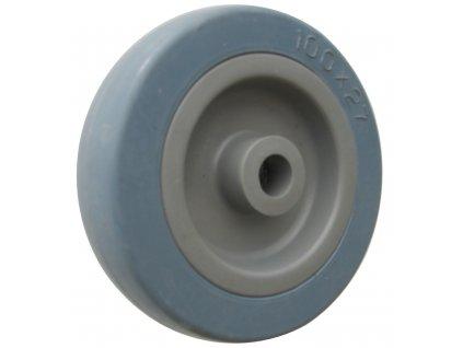 Kolo samostatné, šedá pryž 59050-02 (Průměr kola(mm) 125, Průměr/délka náboje(mm) 12/31, Nosnost(kg) 60)