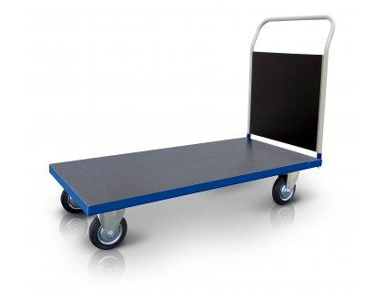 Plošinový vozík 1 x madlo s deskou 500 kg  PROFI 52608-31 (Rozměry (mm) 800 x 1300)