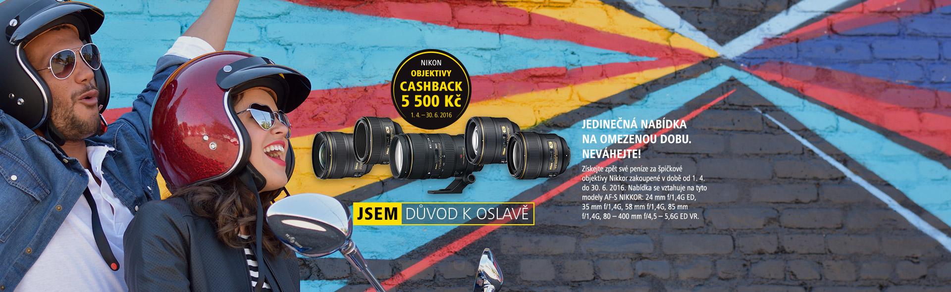 jarní cashback Nikon