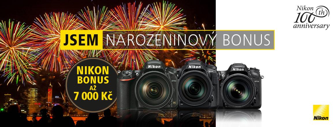 Nikon narozeninovy bonus