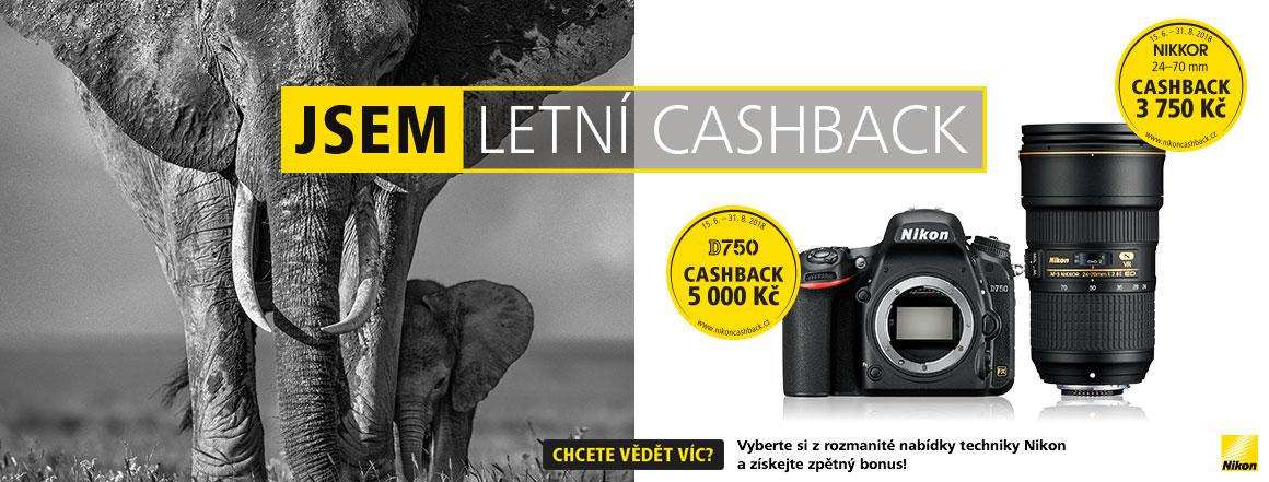 Nikon letní cashback