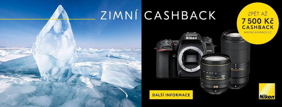 Nikon zimní cashback