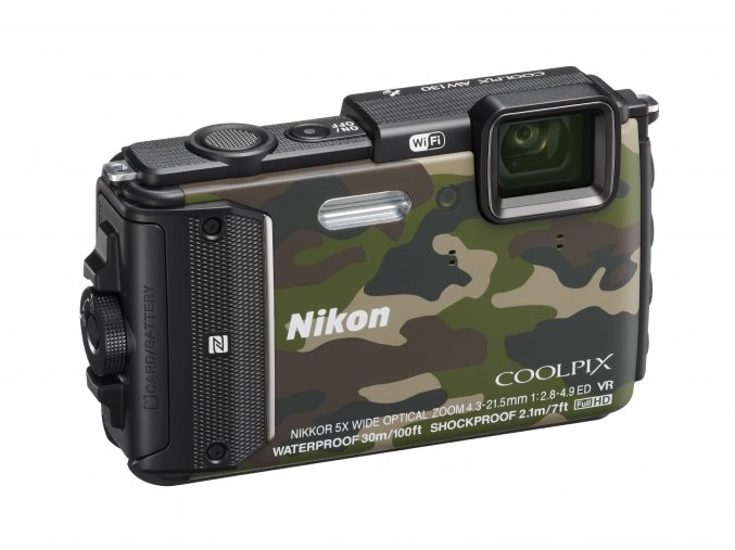Nikon Coolpix AW130 Outdoor kit - archiv