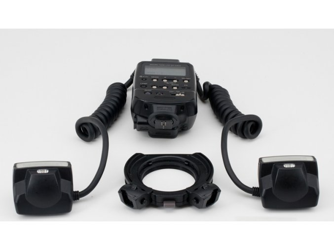 Canon MT-24EX makro blesk, 2 reflektory