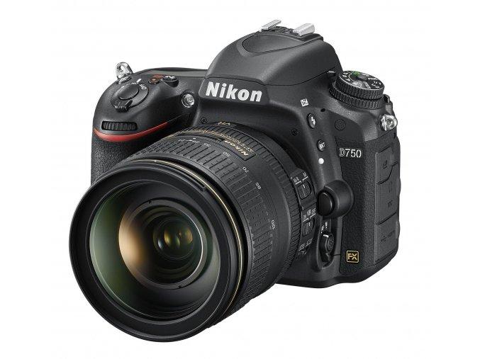 Nikon D750 tělo + 24-120mm VR - archiv