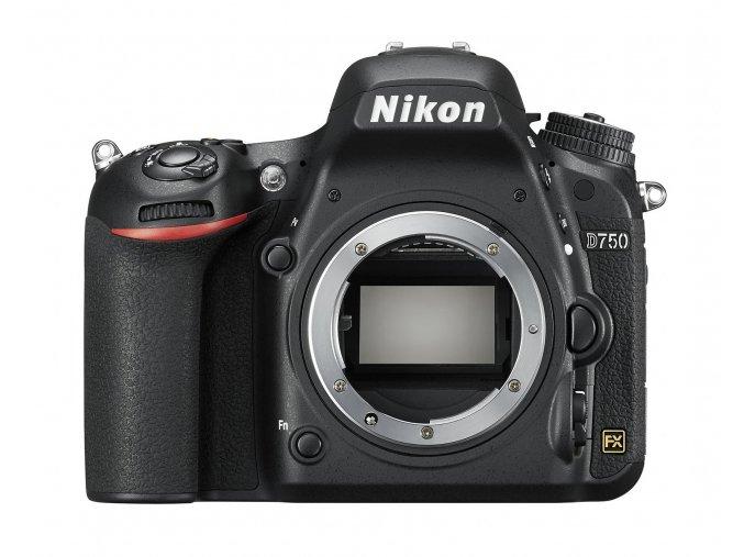 Nikon D750 tělo - zpětný bonus 5.000,-Kč