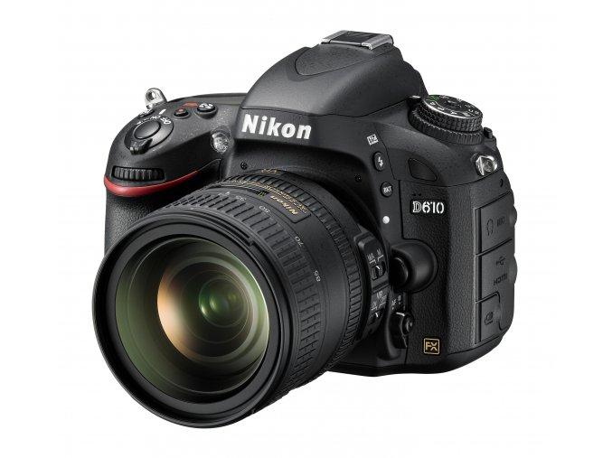 Nikon D610 tělo + 24-85mm VR