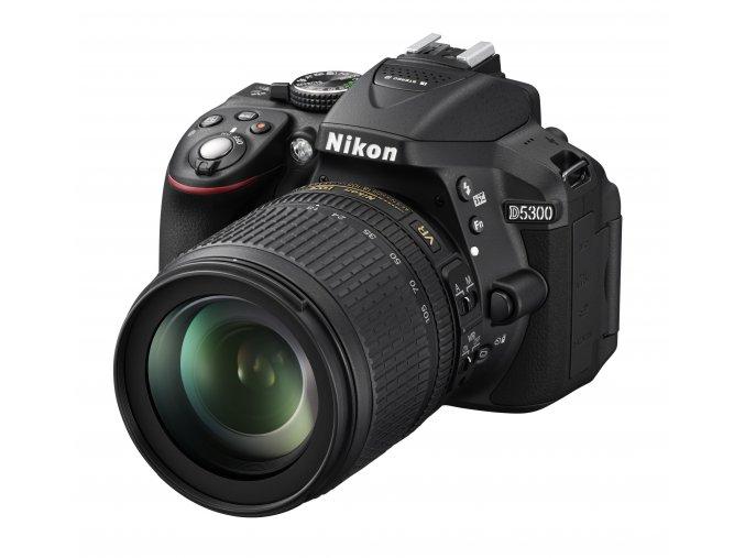 Nikon D5300 + 18-105mm VR
