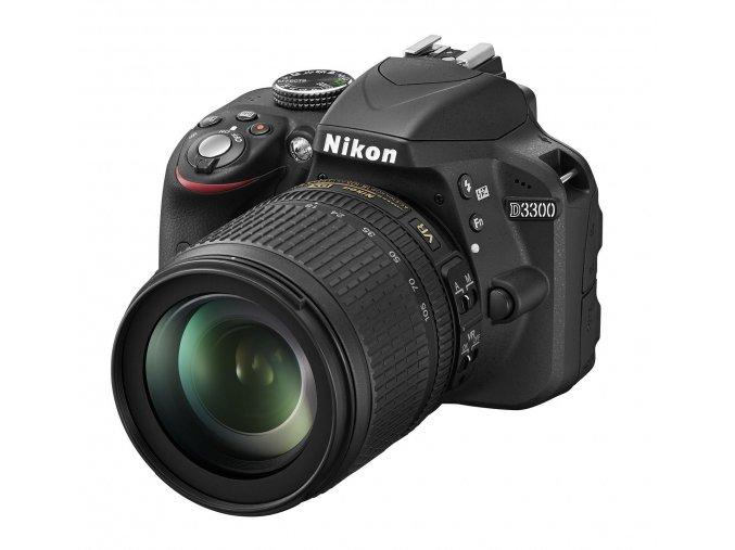 Nikon D3300 tělo + 18-105mm VR - archiv