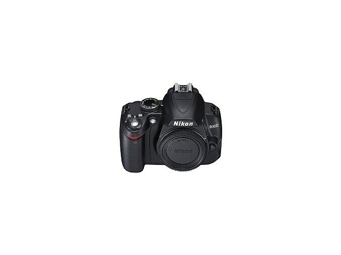 Nikon D3000 tělo - archiv