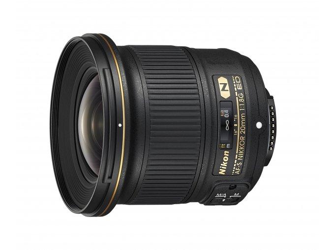 Nikon AF-S Nikkor 20mm f1.8G ED - zpětný bonus 1.250,-Kč