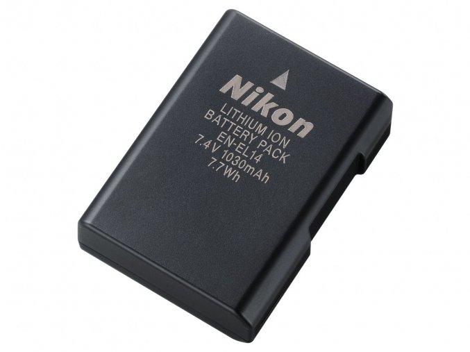 Nikon EN-EL14a aku Li-ion