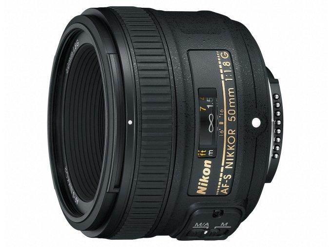 Nikon AF-S Nikkor 50mm f1,8G - zpětný bonus 1.250,-Kč