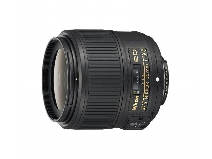Nikon AF-S Nikkor 35mm f1,8G ED - zpětný bonus 1.250,-Kč