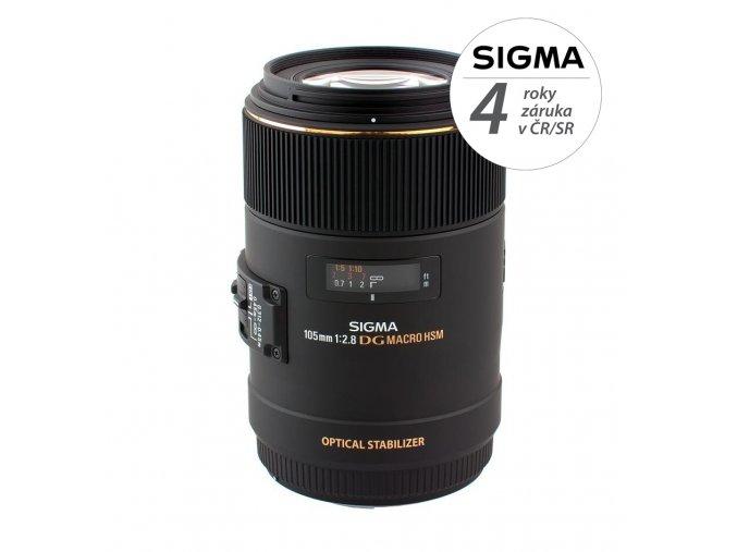 Sigma MACRO 105mm f2,8 EX DG OS HSM