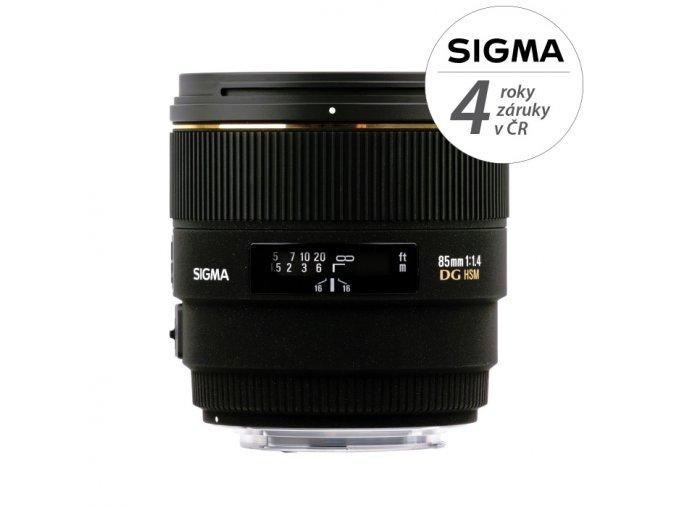 Sigma 85mm f1,4 EX DG HSM